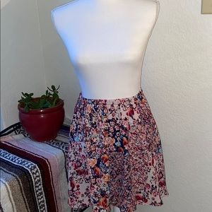 Floral Patch Skirt